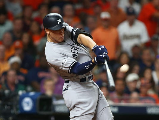 MLB: ALCS-New York Yankees at Houston Astros