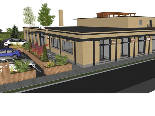 The planned development at 906 Sevier Ave. will have retail and restaurant space