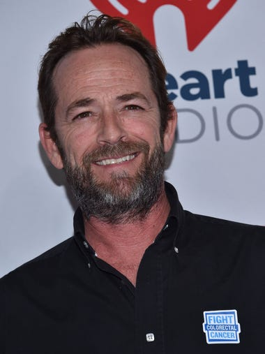 March 4, 2019: Luke Perry, who became a heartthrob