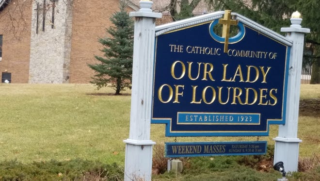 Our Lady of Lourdes in the Whitehouse Station section of Readington.
