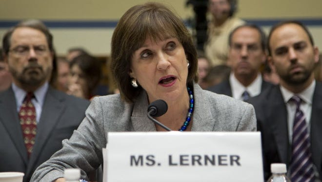 Lois Lerner in Washington in 2013.