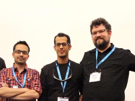 NMSU Icehouse Challenge team members, from left, Cayden