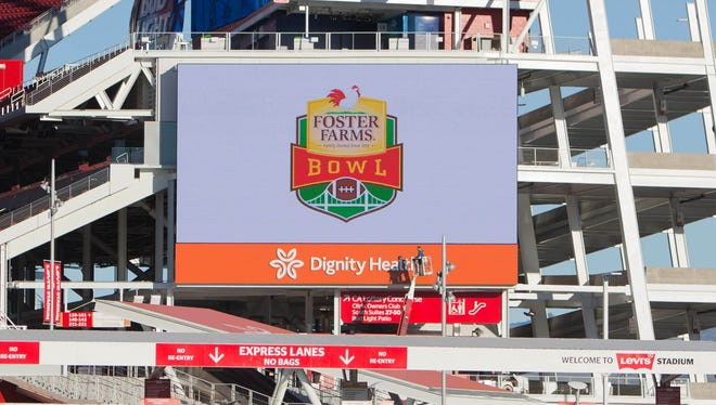 Levi's Stadium hosted the Foster Farms Bowl in December