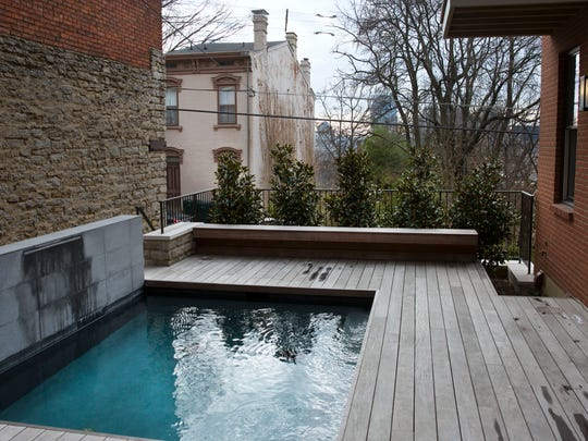 A small pool off the main living area was a must for