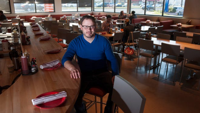 Andrew Welder stands inside his Rockhill restaurant shortly after its 2014 opening. The restaurant closed the last weekend of July.
