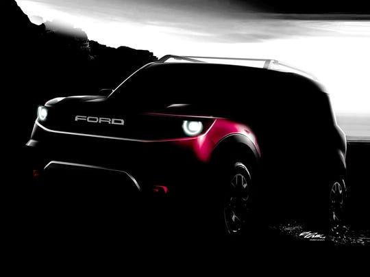 Ford teased on Thursday, March 15, 2018 a top secret  as-yet-unnamed off-road vehicle to be in showrooms by 2020.