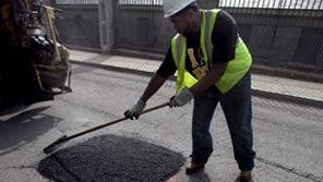 Jackson crews have been busy filling more than four thousand potholes in the last three months.