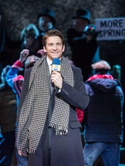"""Andy Karl portrays Phil Connors in """"Groundhog Day"""" at the Old Vic Theater in London."""