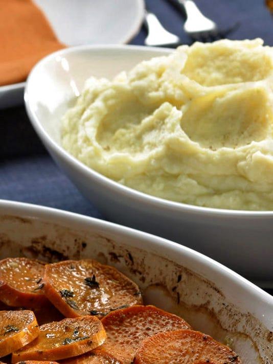 Thanksgiving debates: mashed or smashed potatoes, dry or wet brining