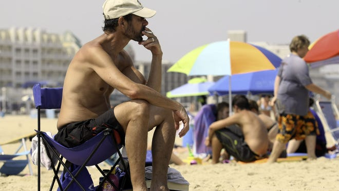 Following a number of coastal towns, South Bethany is considering a ban on beach smoking.