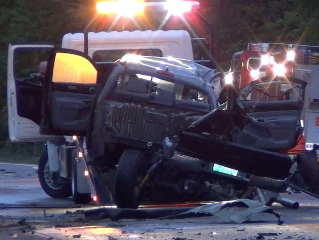 Five high-schoolers dead after I-89 crash