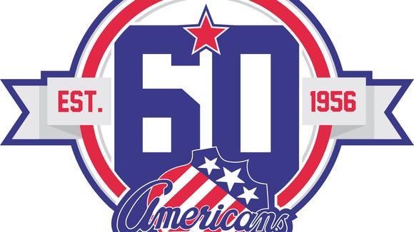 The Amerks 60th anniversary logo for the upcoming season.
