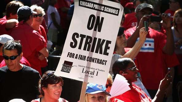 The power of public employee labor unions came under