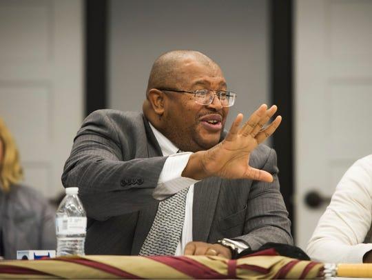 The Rev. John Butler, Knoxville NAACP chapter president,