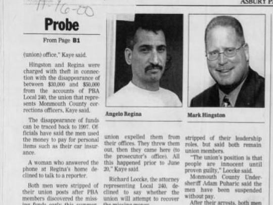 In 2000, Mark E. Hingston was under investigation for