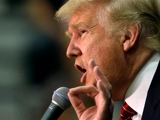 Republican presidential candidate, businessman Donald Trump speaks during a campaign stop in Keene, N.H. Trump is well known in many parts of the world. He s known in the Himalayas, far from any sign with his name on it. And in the Middle East, Africa and beyond.