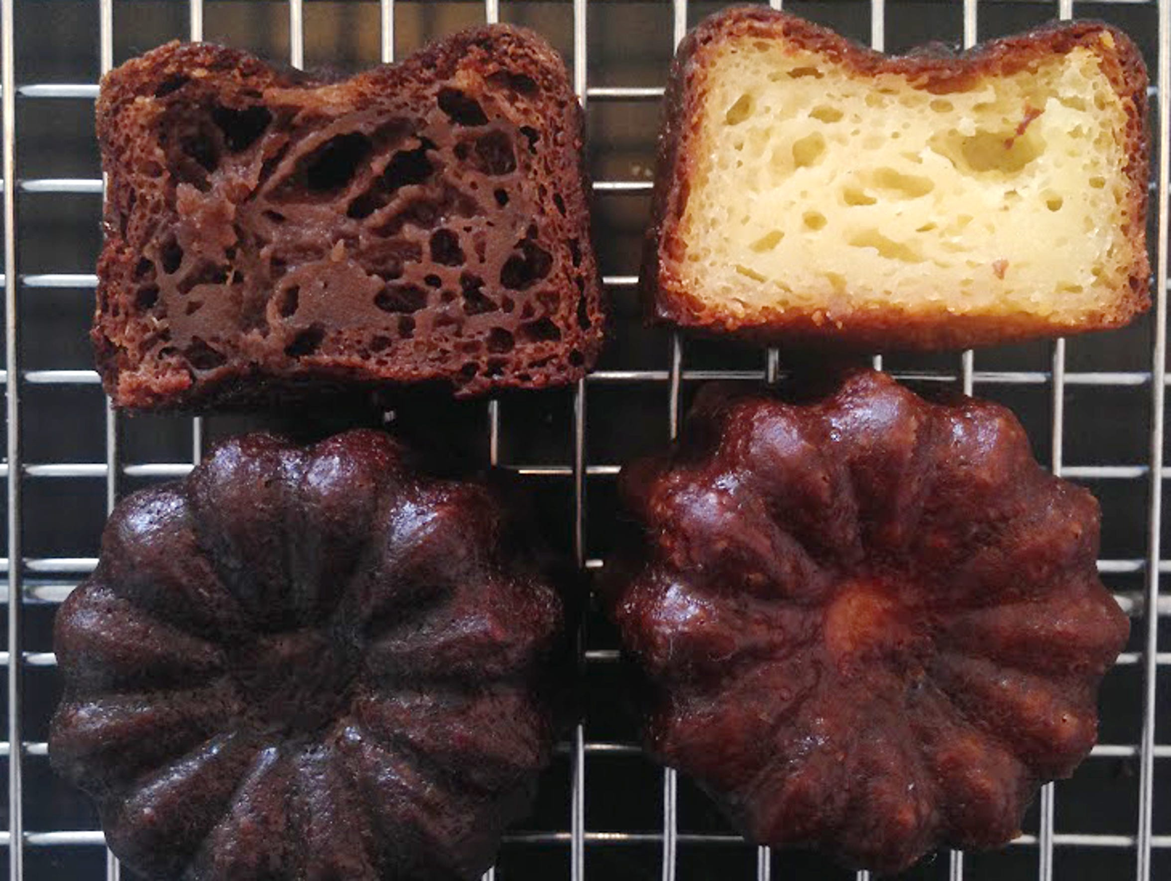 The caneles at Super Chunk Sweets & Treats in Scottsdale.