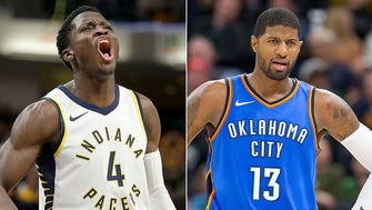 Victor Oaldipo is having a career year for the Pacers, while Paul George is still producing at a high level in OKC.