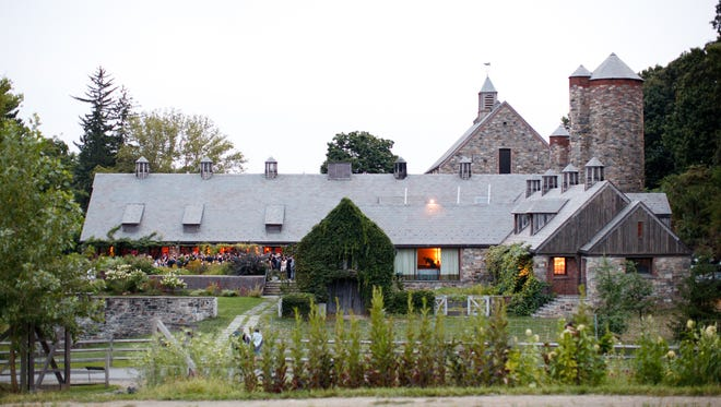 Blue Hill at Stone Barns is set on former Rockefeller property, in the restored dairy barns.
