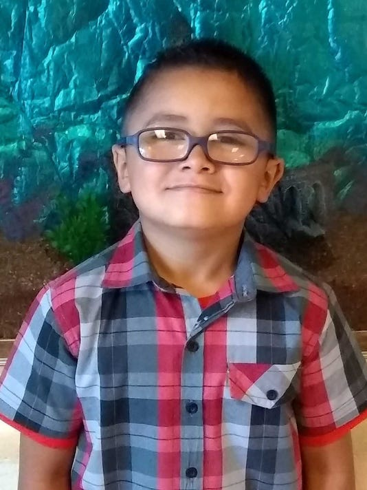 Aiden Olvera, Student of the Month, Nob Hill Early Childhood Center