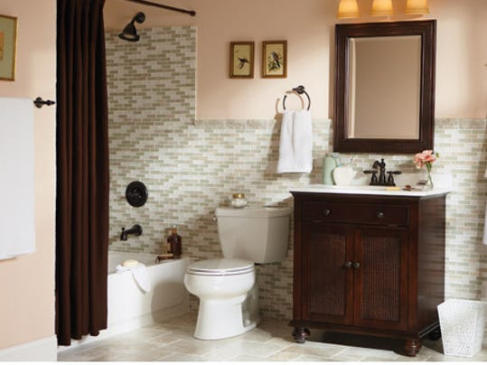 How To Create A Tin Tile Diy Bathroom Remodels