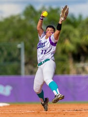 Freshman Sarah Lawton is part of FSW's top-notch pitching