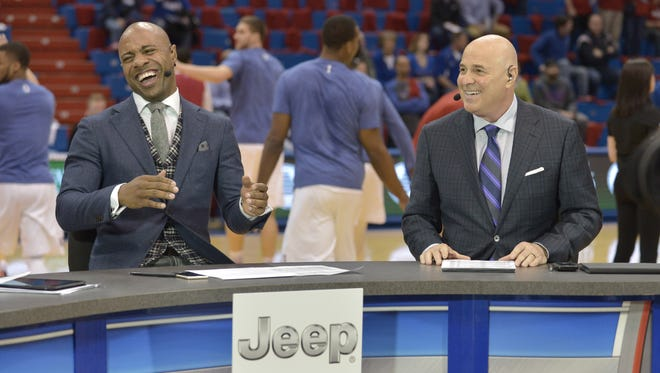 Jay Williams, left, spurned Rutgers basketball as a New Jersey recruit but could he get a look in the coaching search?