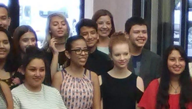 Students who completed the course are (in no order): Ariana Fierro, Jazmine White, Alexis Mejia, Kylie Nicoll, Anthony Almanza, Isabel Almanza, Johnny Gonzales, Betsy Maciel, Celeste Miranda, Viviana Nicoll, Alicia Pena, Breanna Richmond, Misty Saiz, Italia White, Annadalay Barraza, Calliope Whitty, Martiana Sanchez, Shannah Rudiger, Ahmad Alsheikh and Tristan Nunn. Pictured standing at far right is Mimbres Memorial Hospital CEO Kelly Duke.