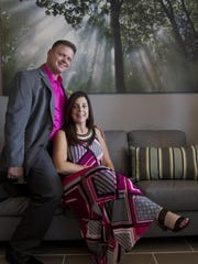 Billy and Jeni Morris are the owners of newly opened The Laser Lounge at The Shops at Verandah.