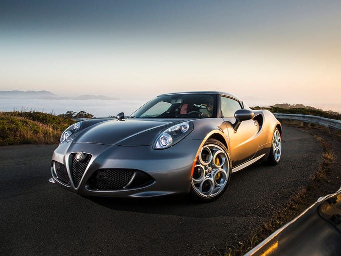 The all-new 2015 Alfa Romeo 4C coupe spearheads the