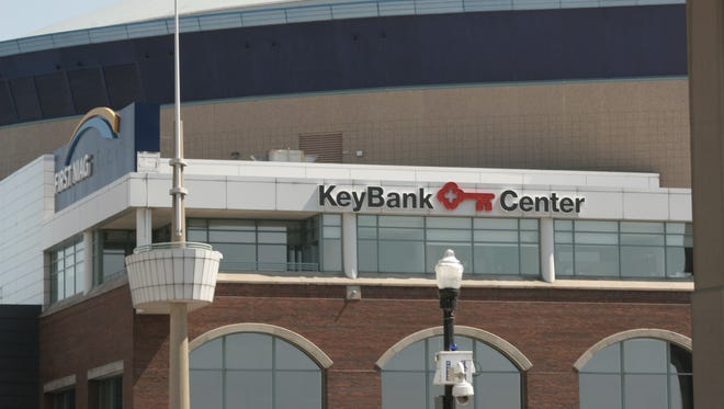 The KeyBank Center, formerly the First Niagara Center, in Buffalo, N.Y.
