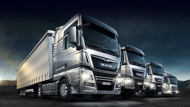 VW builds trucks under the Swedish Scania and the German