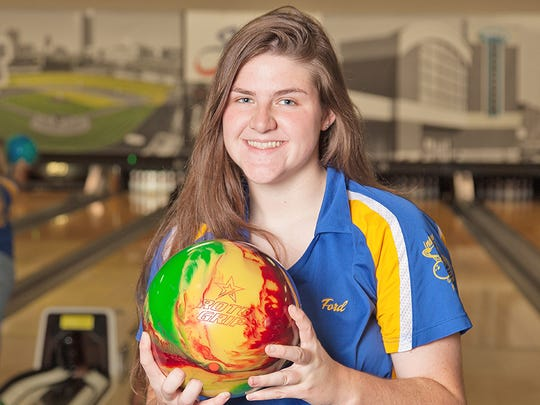 Blackhawk Christian bowler Shannon Ford