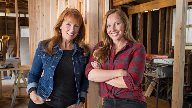 Karen E Laine, left, and Mina Starsiak are set to return to HGTV for Season 2 of 'Good Bones' in early 2017.