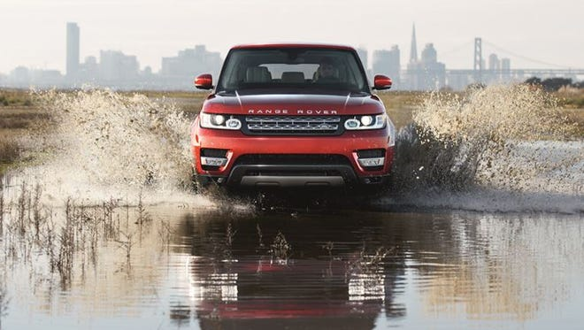 The 2015 Range Rover Sport is rated at 17/22 mpg city/highway, thanks to an eight-speed automatic transmission start/stop technology.