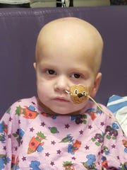 Finn Stever, 2, is currently battling an infection after his transplant.