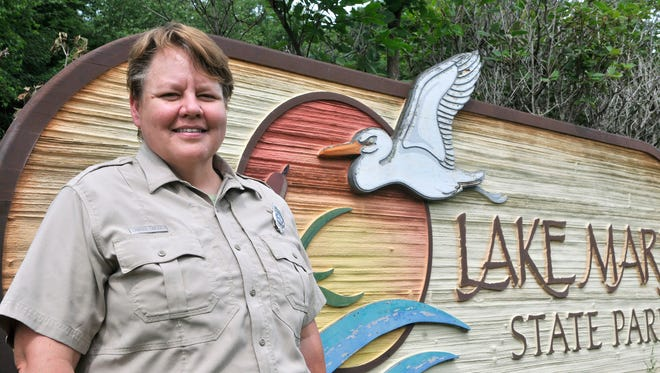 Tamara Simonich is Lake Maria State Park's new manager. The park outside Monticello also oversees Sand Dunes State Forest about 20 miles away. She grew up in Adrian, and attended St. Cloud State University for a couple of years before enrolling in the recreation program at Mankato State University.