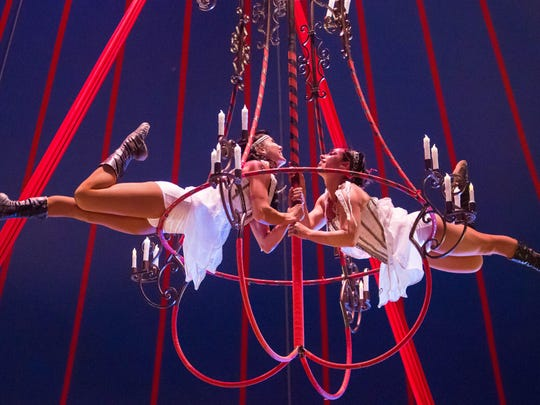 Cirque Ma'Ceo will perform acrobatic stunts 1, 3:30 and 5:30 p.m. on weekends and 2:30 and 5:30 p.m. on weekdays throughout the fair run in the Oregon State Fair Pavilion. $15, $10 for kids or $20 for ringside seats.