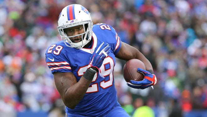 Bills RB Karlos Williams ran for 24 yards and a touchdown against the Jets.