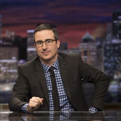 John Oliver calls America a 'beautiful mess of contradictions'