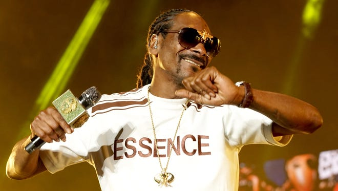 Snoop Dogg performs onstage during the 2018 Essence Festival in New Orleans.