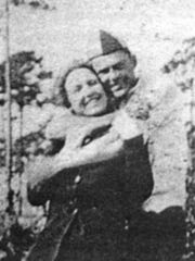 Laura Upthegrove and John Ashley, ca 1921.
