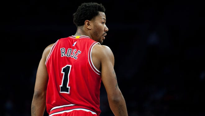 Feb 20, 2015; Chicago Bulls guard Derrick Rose.
