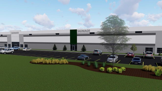 A 186,000-square-foot light industry facility will be the first building at Willow Creek Business Park in Germantown.