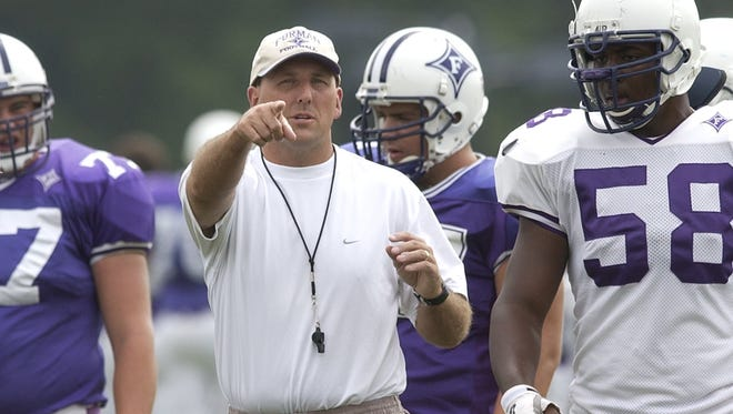 Former Furman player and assistant Clay Hendrix returns as the Paladins' 23rd head coach