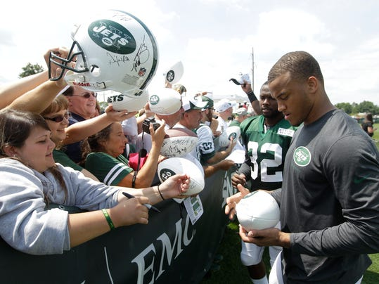 Jets Camp Football (2)