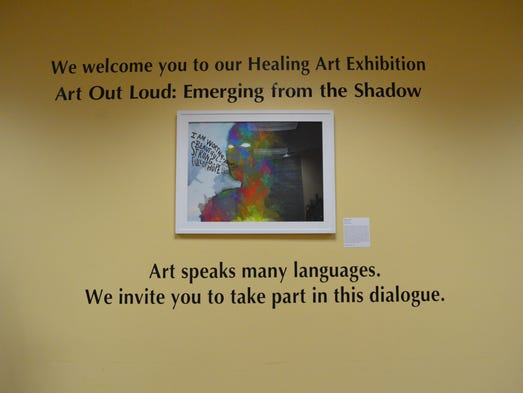 The Counseling Center's Healing Art Exhibition featured
