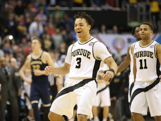 Carsen Edwards is in line for a big jump his sophomore