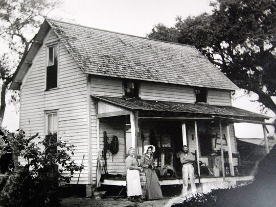 The Kroegel's second family home, circa 1890s.