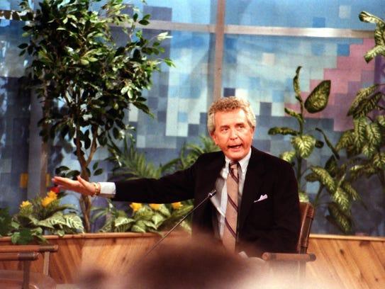 """John Kelly, on the set of """"Kelly and Company."""""""